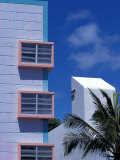 Art Deco District  South Beach  Miami  Florida