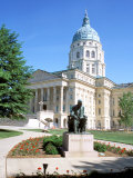 State Capitol Building  Topeka  Kansas