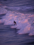 Surfer at Huntington Beach  Orange County  California