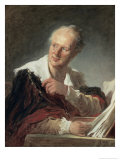 Portrait of Diderot  c1769