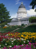 Utah State Capitol Building  Salt Lake City  Utah