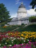 Utah State Capitol Building  Salt Lake City  Utah