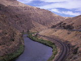 Yakima Canyon and Yakima River  Kittitas County  Washington