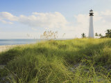 Bill Baggs Cape Florida Lighthouse  Bill Baggs Cape Florida State Park  Key Biscayne  Florida