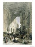 Silk-Mercers' Bazaar of El-Ghooreeyeh  Cairo