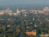 Town View from Grandad Bluff  La Crosse  Wisconsin