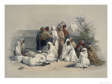 Group in the Slave  Market in Cairo  A