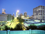 Downtown Evening Lighting  Tulsa  Oklahoma