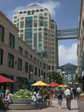City Center Pedestrian Zone  Downtown Oakland  California