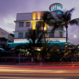 Art Deco Architecture  South Beach  Miami  Florida
