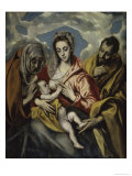 The Holy Family and Saint Anne