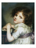 L'Enfant a La Poupee  a Child with a Doll