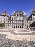 State Capitol Building  Albany  New York