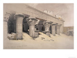 Portico of the Temple of Edfou  Egypt