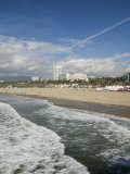Shorefront from Santa Monica Pier  Santa Monica  Los Angeles  California