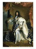 Louis XIV  King of France  c1701