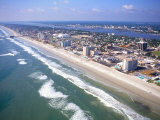 Beach Aerial  Daytona Beach  Florida