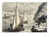 Ice Boat Race on the Hudson