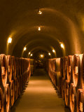Pine Ridge Winery Cask Room  Yountville  Napa Valley  California