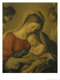 Madonna with the Infant Jesus Sleeping  17th century