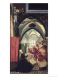 The Isenheim Altarpiece  Annunciation
