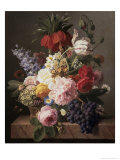 Flowers and Fruit  c1827