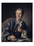 Portrait of Diderot  c1767