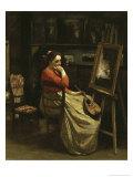 L'Atelier de Corot  Jeune Femme a La Mandoline