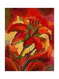 Kandinsky&#39;s Day Lily