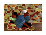 Mexican Beggar Family