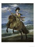 Prince Carlos Balthasar on Horseback  c1635