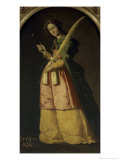 Saint Apollonia  17th century