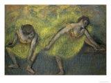 Deux Danseuses En Repos Giclée par Edgar Degas