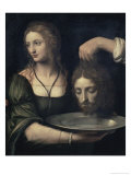 Salome Receiving the Head of John the Baptist  16th century