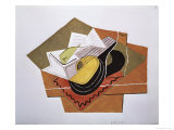 Still Life with a Guitar  c1920