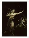 Lady Macbeth Sleepwalking  c1783
