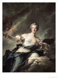 The Duchess of Chaulnes  c1744
