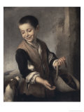 Boy with a Dog  c1655-1660