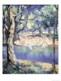 River in the Forest  c1908