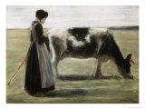 Das Madchen Mit Der Kuh