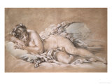 Young Girl Sleeping  c1758