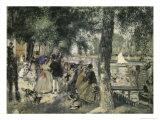 Bathers in the Seine La Grenouilliere