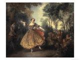 Mademoiselle Camargo Dancing