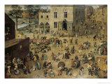 Children&#39;s Games  c1560