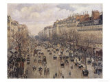 Boulevard Montmartre in Paris