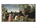 Story of Saint Luke Predella Triptych