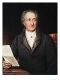 Portrait of Goethe
