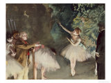 Repetition de Ballet Giclée par Edgar Degas