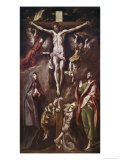 Crucifixion with Virgin  Magdalene  St John and Angels