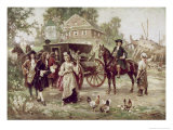 On the Road to Penn's Manor  c1701